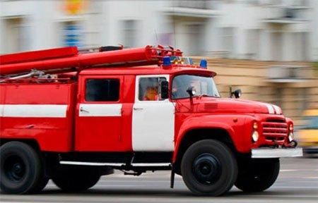 На ул. Строителей сгорел Volkswagen Passat