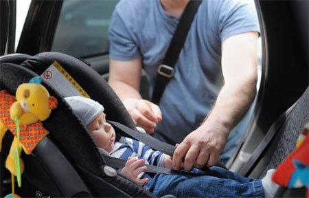 Новые правила перевозки детей в автомобиле