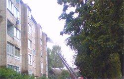 На улице Пушкина произошло возгорание квартиры
