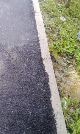 Администрация отчиталась о победе над тротуаром Красноармейского Шоссе