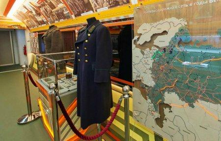 В Вязьму приехал поезд музей