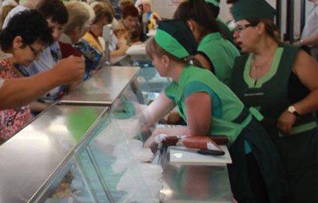 В магазине Смоленское подворье обсчитывают покупателей
