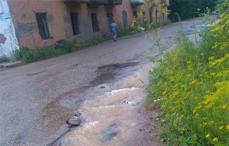 5 августа Вязьму опять оставили без воды