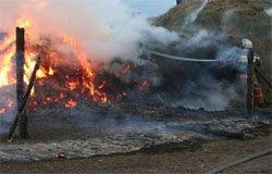 Пожары в Вяземском районе за 6 августа