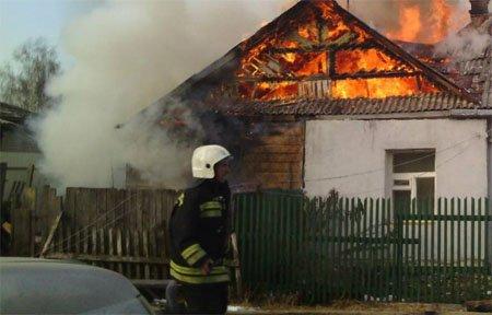 Сегодня утром горел дом в Путьково имеется пострадавший