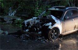 Минувшей ночью в Вязьме сгорели три машины