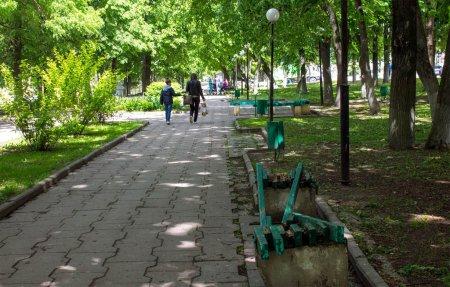 В Вязьме началась реконструкция Нахимовского сквера