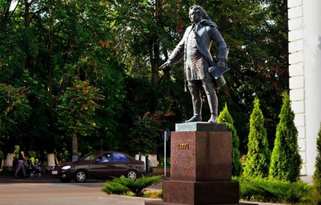 Памятник Петру I Гагарин