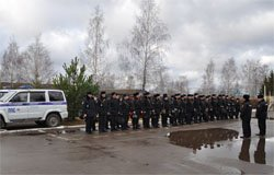 В Смоленской области прошли учения «Метель - 2017»