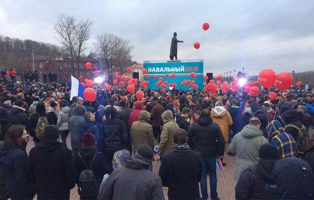 Навальный в Смоленске [видео]