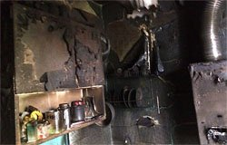 В Вязьме на улице Элеваторной сгорела квартира