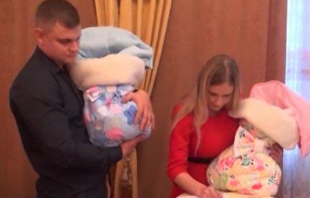 Демидова пообещала квартиру многодетной семье Никуличевых