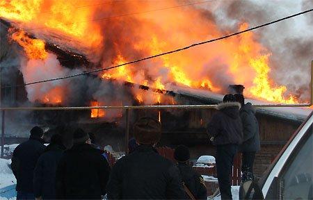 В Вязьме произошло два пожара. Имеются пострадавшие