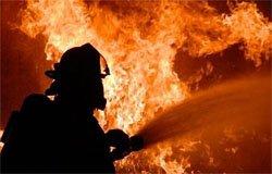Вчера произошёл пожар в Новом Селе