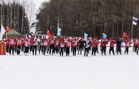 Лыжня России 2018 в Вязьме