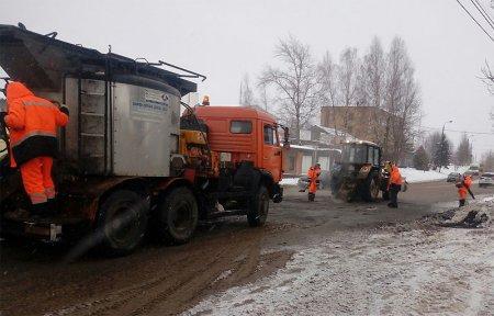 Ярцевский ДЭП-3 отказался от контракта по ремонту дорог в Вязьме