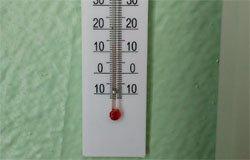 В семлевской школе замерзают дети