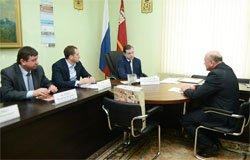 Губернатор пообещал благоустроить сквер на Вязьма-Брянской