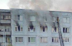 При пожаре на ул. Строителей пострадал ребенок
