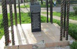 Памятник погибшим медикам в Вязьме