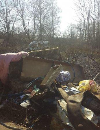 Андрейково утонуло в мусоре