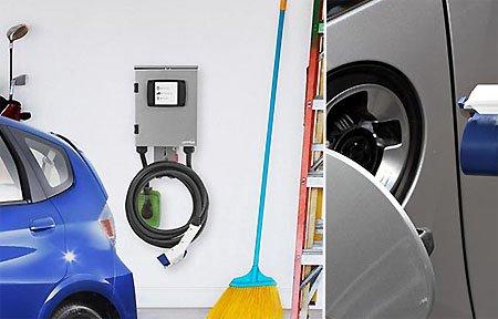 В Вязьме появилась бесплатная зарядная станция для электромобилей
