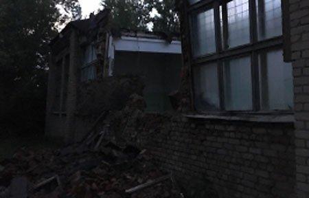 На Юбилейной обрушилось здание