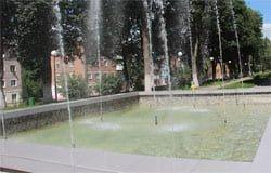 О чем пишут СМИ: в Вязьме почистили фонтан