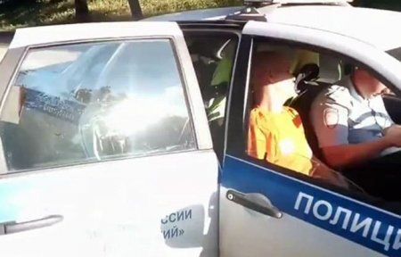 ДТП на Докучаева. Пьяный водитель снес дорожное ограждение