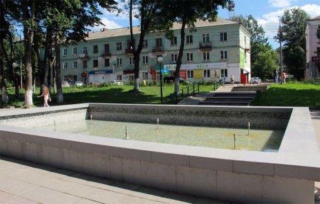 В Вязьме, как и в других городах в день ВДВ отключили фонтан