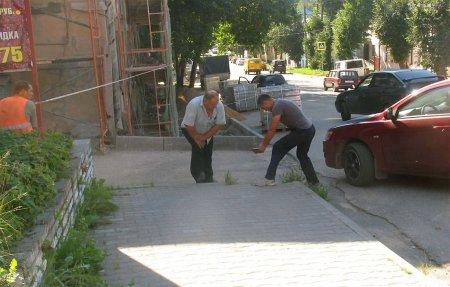 О чём пишут СМИ: В Вязьме появился новый тротуар