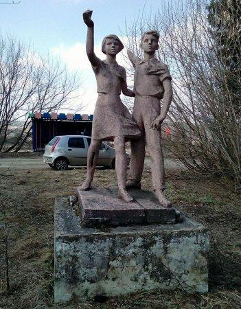В Вязьме отыскали скульптуру советских времен