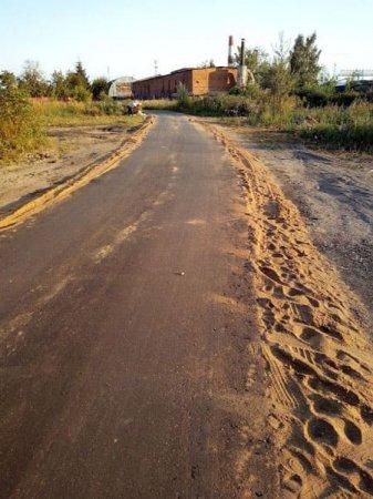 ООО «Наш дом» порадовало вязьмичей ремонтом участка улицы Фурманова