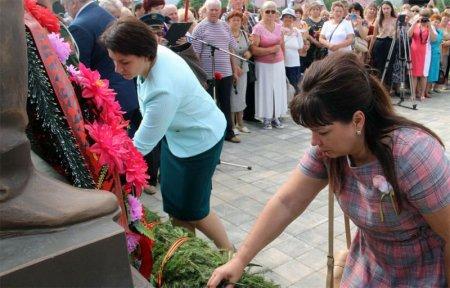 В Царево-Займище открыли памятник Воину-Освободителю