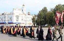 В Вязьме прошел крестный ход и появилась новая площадь