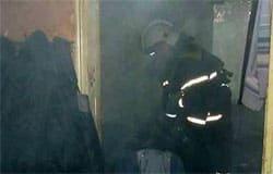 На Кронштадтской горела квартира. Имеется пострадавший