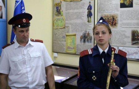 В ВФ МГУТУ открыли музей казачества