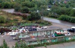 Новый подрядчик по вывозу мусора не справляется со своими обязанностями