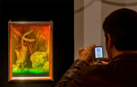 В Выставочном зале открывается выставка голографических картин