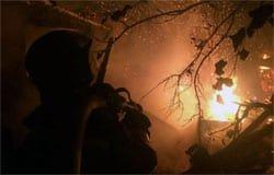 В Шиманово сгорел дом