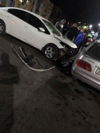 На Ефремова произошла серьезная авария [видео]