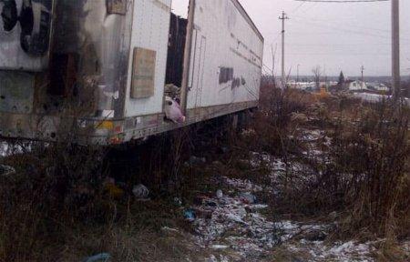 Чиновники отыскали владельца мусорного прицепа