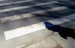 В Вязьме на пешеходном переходе сбили девушку