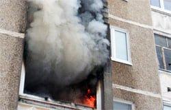 В деревне Артемово при пожаре чуть не сгорели дети