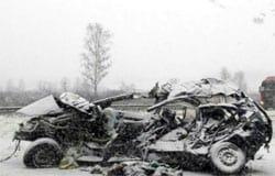 В ДТП на М-1 погибла 55-летняя вязьмичка