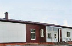 В Касне закончили строительство Дома культуры