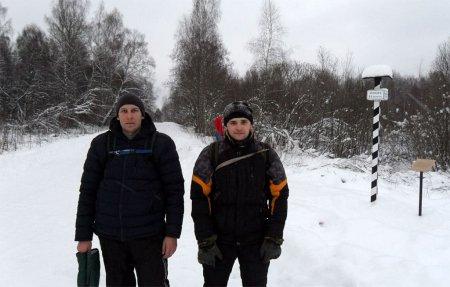 Вяземский путешественник: Двухдневный лыжный поход на Рождество
