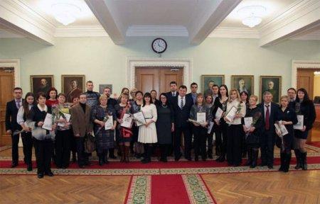 Вяземский Вестник и Вяземское ТВ отметили в областной администрации