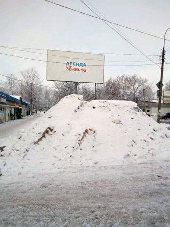 В аренду сдаётся куча отборнейшего снега