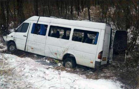 На 238 км трассы М-1 произошло ДТП. Имеется пострадавший